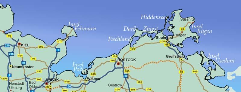 ostseeinseln karte Karte Ostseeinseln Deutschland | My blog