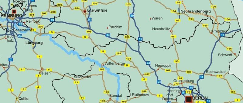 deutschland karte entfernungstabelle landkarte deutschland. Black Bedroom Furniture Sets. Home Design Ideas
